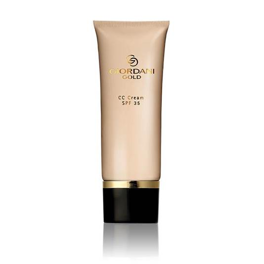 1 everything you need to know about bb  cc and dd creams - Oriflame Giordani Gold CC Cream SPF 35