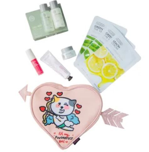 The Face Shop Valentine's Day Pouch-best-valentines-day-gifts