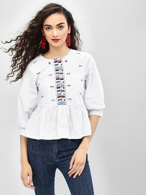 Embroided-blouse-elegant-tops