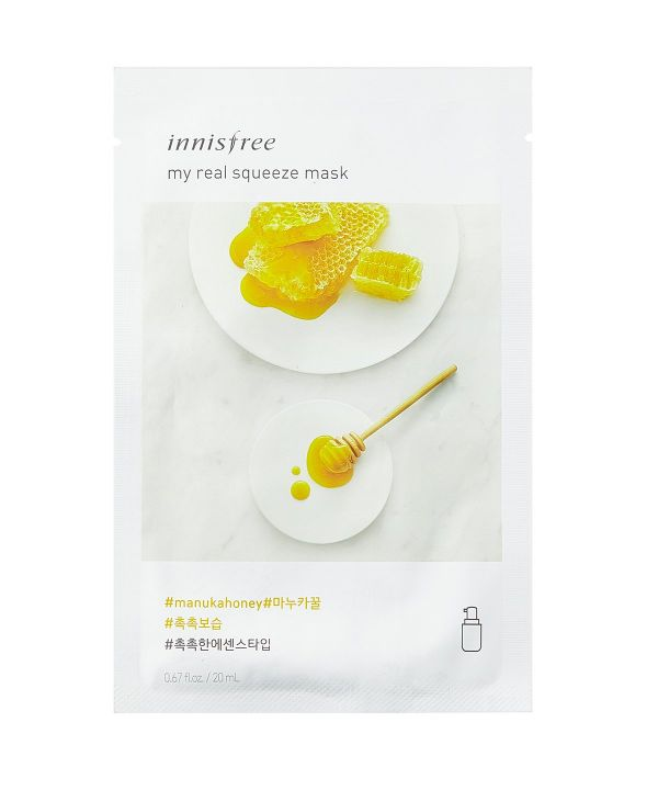 Innisfree-My-Real-Squeeze-Mask-Honey