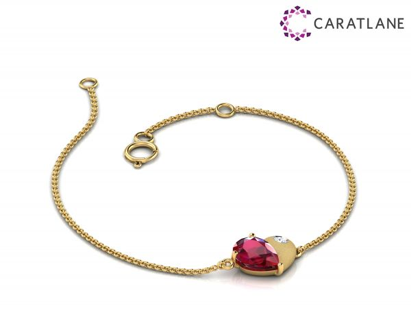 2 CaratLane Amy Sweet Love Bracelet Rs.12 414