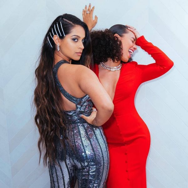 4 Lilly Singh Just Showed Us The Easiest Way To Style Long Hair - iisuperwomanii and alicia keys