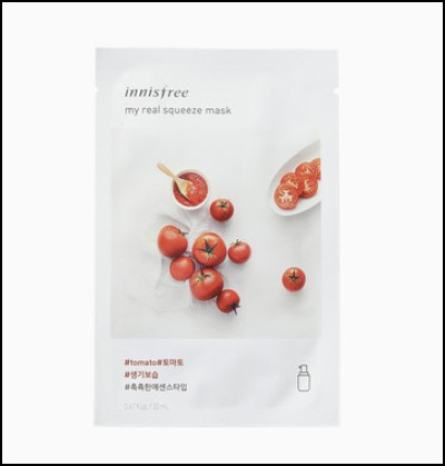 Innisfree My Real Squeeze Mask Tomato for marathi