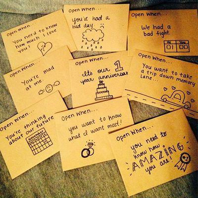 open when love letters-diy-gift-ideas-for-boyfriend