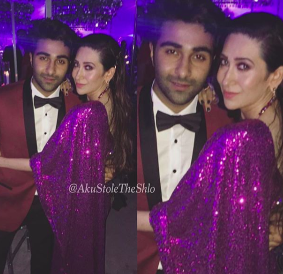 Akash-Ambani-Shloka-Mehta-Wedding-Ambani-Switzerland-Photos-Karisma Kapoor