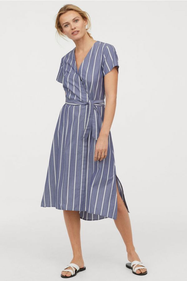 2-how-to-wear-striped -dresses