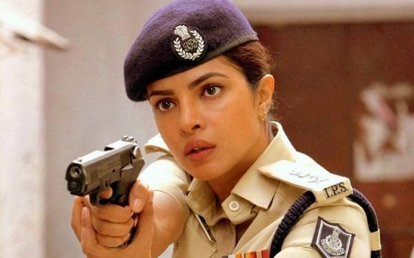 Female Cops in Bollywood- priyanka