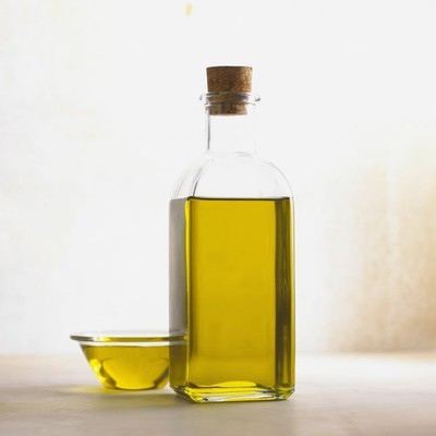 Olive oil- oil in a jar
