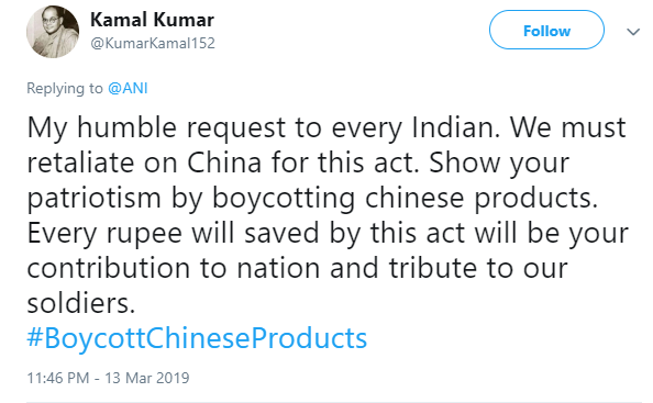 boycottchineseproducts - tweets 02
