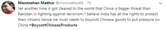 boycottchineseproducts - tweets 03