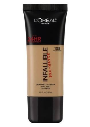 5. L'Or%C3%A9al Infallible Pro Matte Foundation.