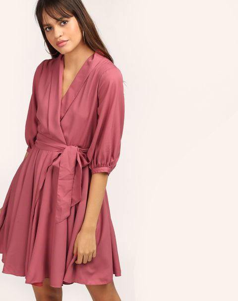 wrap-dress-how-to-hide-belly-fat