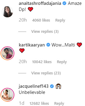 3 rangoli chandal comment on deepika's look on instagram