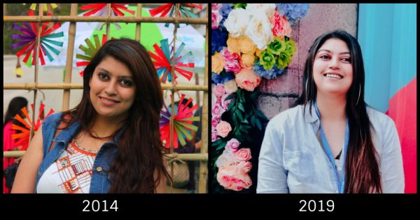 POPxoTurns5  Team POPxo Takes The  POPxo5YearChallenge - Kannagi desai