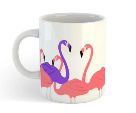 3-Flamingo-Coffee-Mug