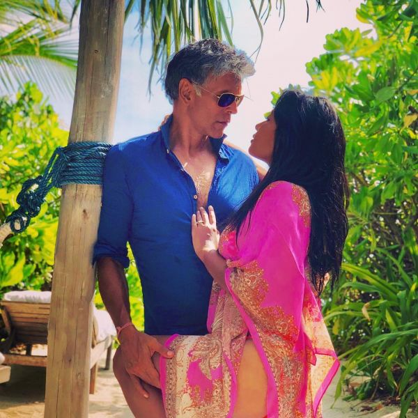 1 milind soman gets cozy with wife ankita