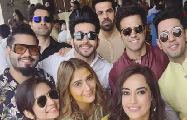 1 Dheeraj Dhoopar  Surbhi Jyoti   Other TV Celebs Attend A Friend's Wedding