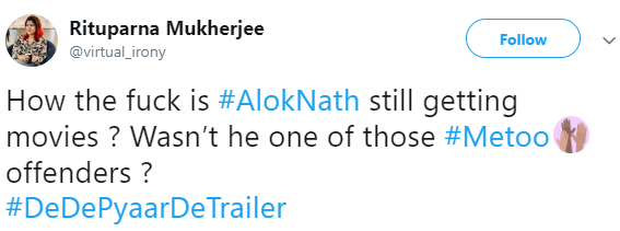 9 tanushree dutta slams ajay devgn for working with alok nath