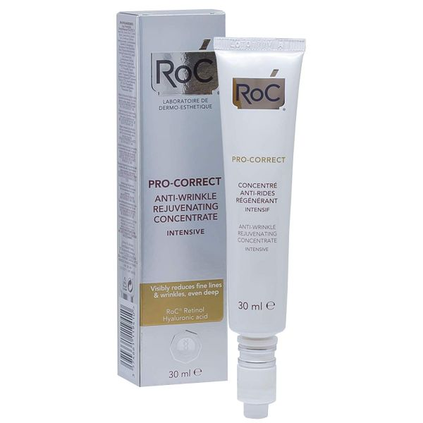 Best-wrinkle-filler-wrinkles-fine-lines-botox-anti-aging-RoC Pro-Correct Anti-Wrinkle Rejuvenating Concentrate Intensive