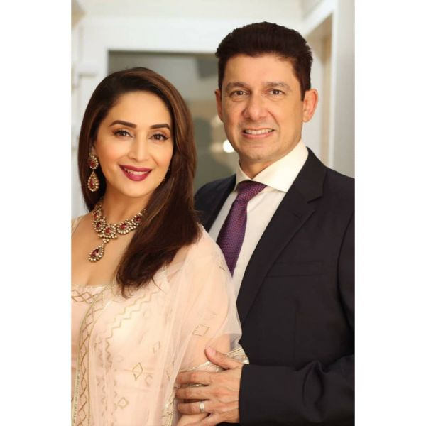 4 celebs who had arranged marriage - Madhuri Dixit   Dr. Shriram Nene