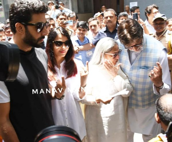 Voting- Bachchans