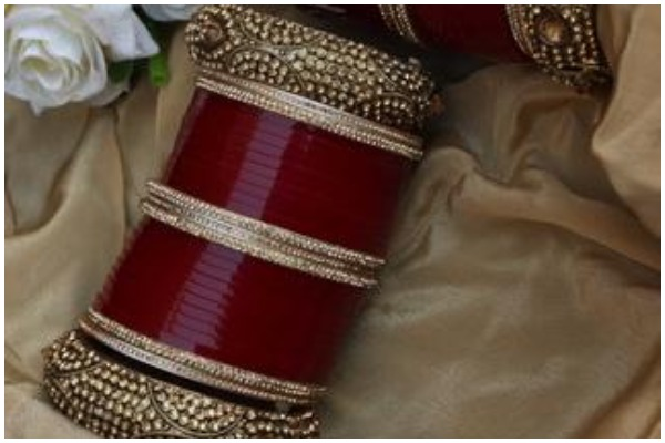 Maroon Bridal Chooda