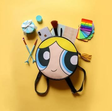 5. Bubbles Round Backpack