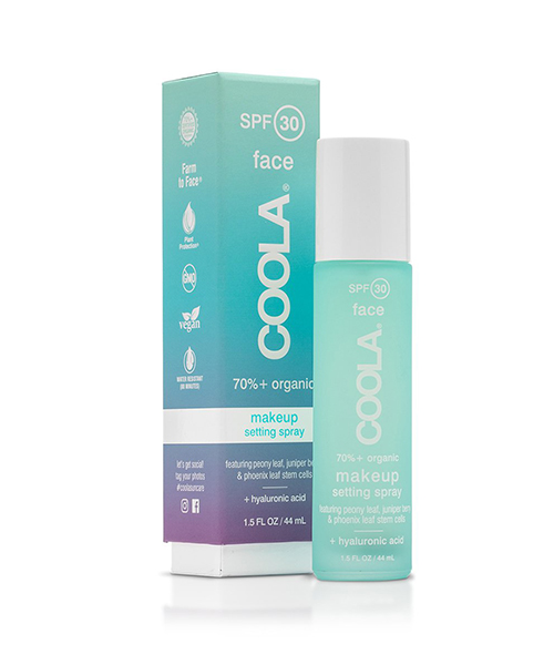 summer  sunscreen  SPF  sun  protection  Coola Sunscreen Setting Spray Mist