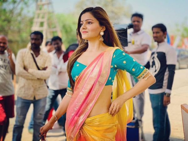 Rubina Dilaik On Not Getting Paid Dues- Colourful saree