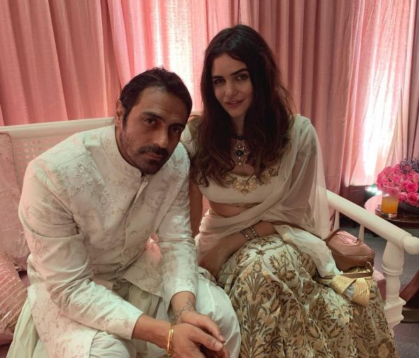 Arjun Rampal To Host A Baby Shower For Gabriella- Wedding
