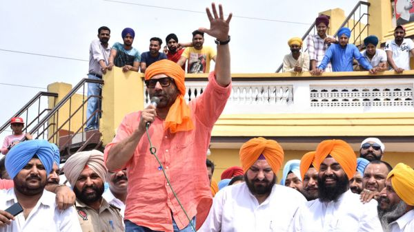 Sunny Deol election campaigning