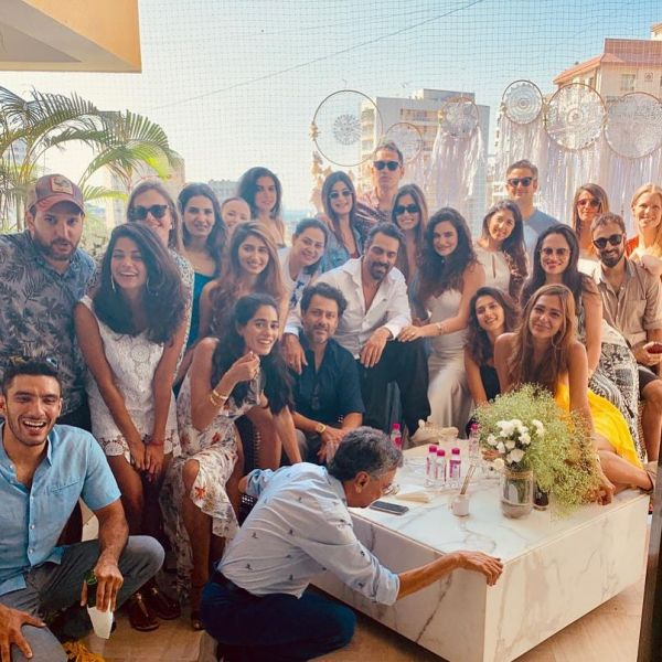 2 arjun and gabriella baby shower with friends