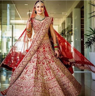 Bridal lehnga Reuse