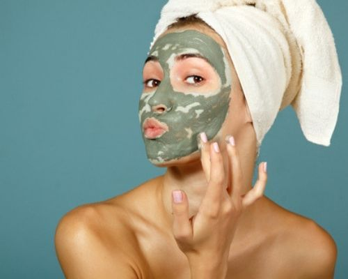 curry leaves face mask