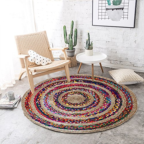 4 The Home Talk's Cotton and Jute Rug %28Rs 7990