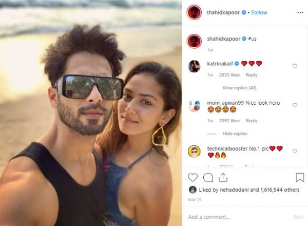 2 instagram lessons from celebs - shahid and mira kapoor
