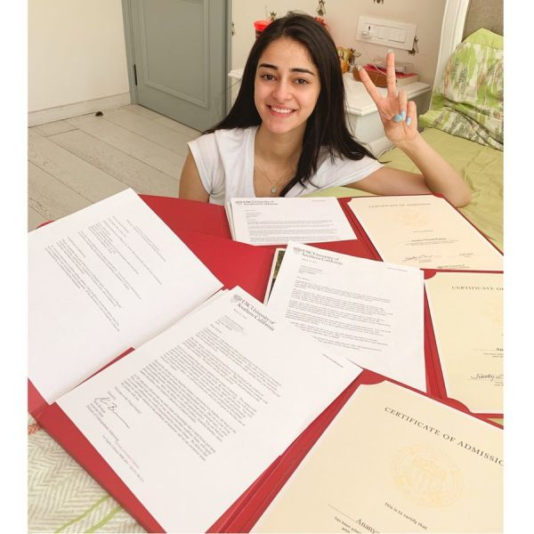 ananya-pandey-USC-admission-proof-insta