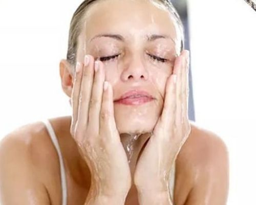 how to wash your face 1