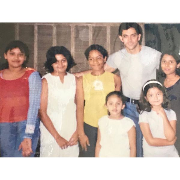hrithik roshan   alia bhatt childhood photo
