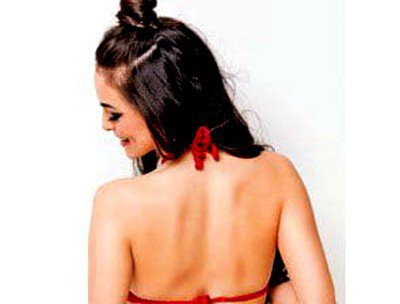 14. Simple Hairstyle In Marathi