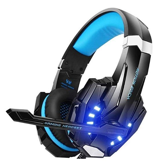 Kotion Each - Over the Ear Headsets with Mic and LED - G9000 Edition for PC