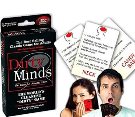 Dirty Minds Adult Game of Naughty Clues