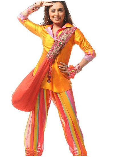 Bollywood Style Punjabi Suit Design 2