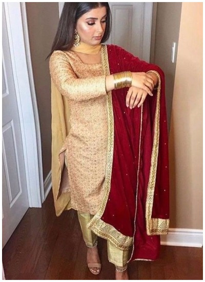 Bridal Punjabi Suit Designs 1