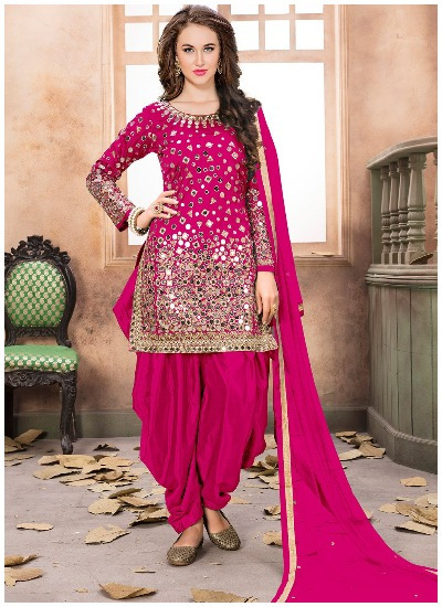 Bridal Punjabi Suit Designs 2