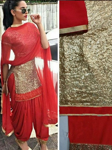 Bridal Punjabi Suit Designs 6