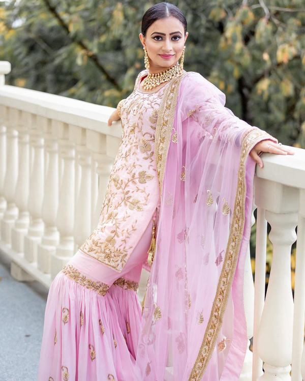 Bridal Punjabi Suit Designs 8
