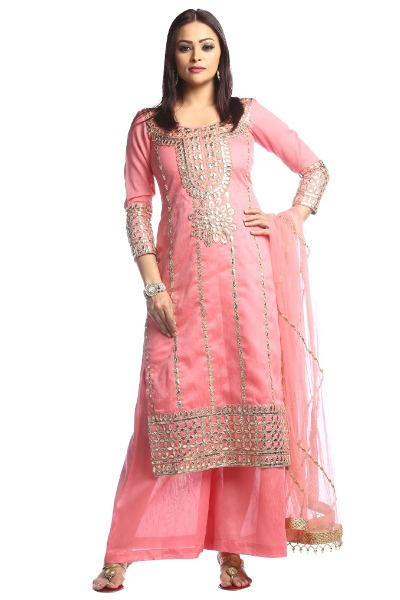 Gota Patti Punjabi Suit Design 2
