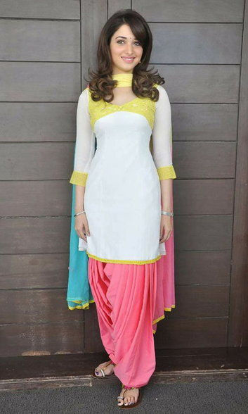 Patiyala Suit Design in Hindi 1