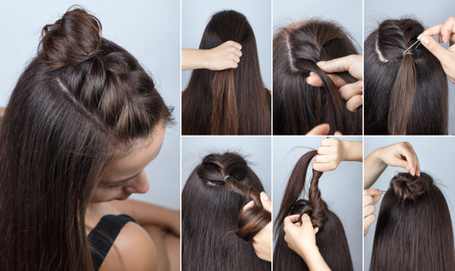 6 simple hairstyles